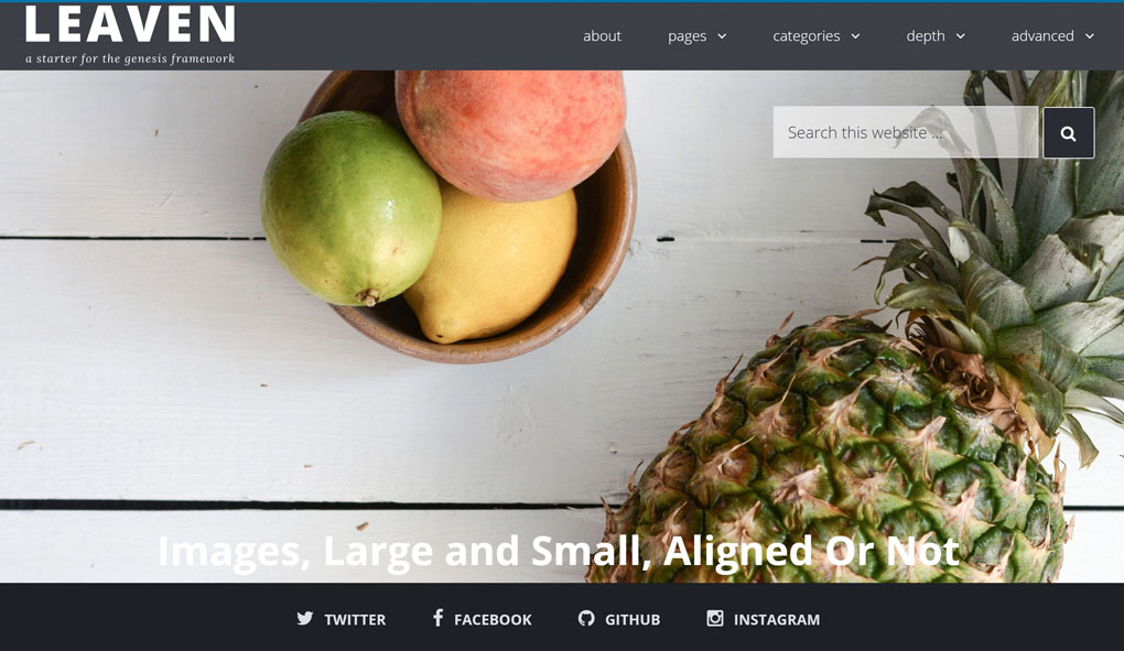 Add a Widget Area to the Featured Image Overlay